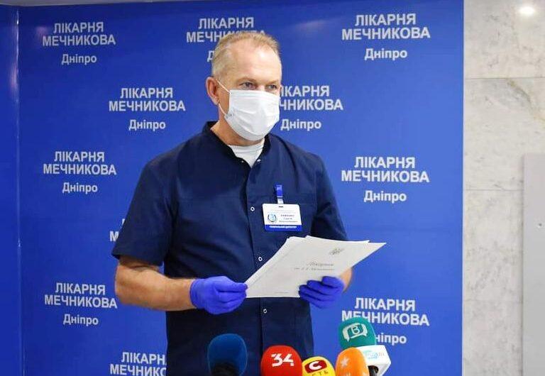 Сергей Рыженко: «Самых тяжелых c covid-19 везут к нам в Мечникова, каждый день минимум 20 заболевших»