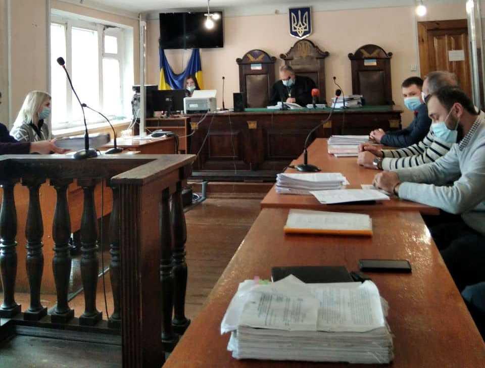 Заседание Жовтневого суда