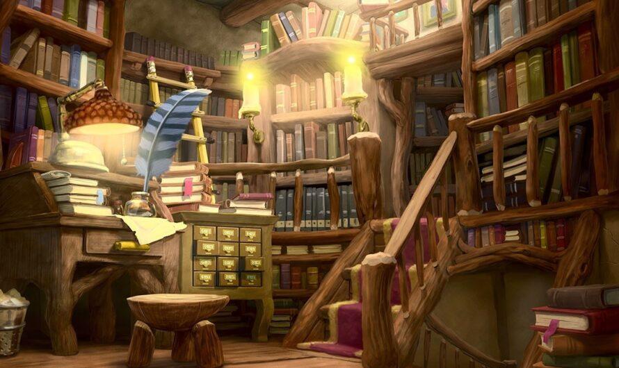 За волшебной дверью: секреты библиотечной подсобки