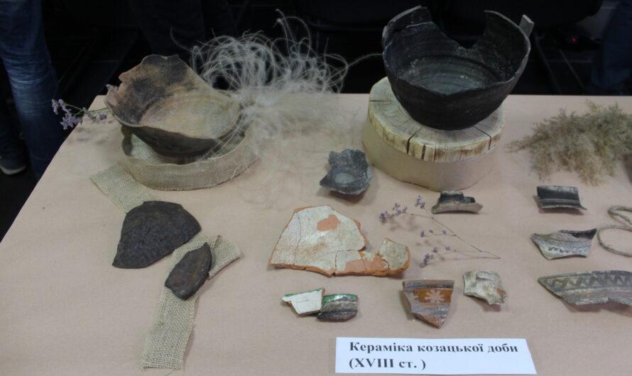 Дела давно минувших дней… В помещении САД Днепропетровской области показали уникальные археологические артефакты