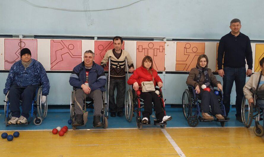 В Днепре появился спортзал для колясочников, занимающихся экзотическим видом спорта бочче