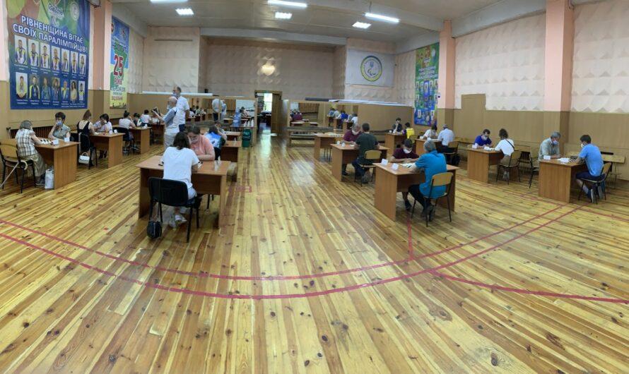 Каменчане удачно выступили на Кубке Украины по шашкам-100