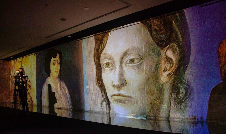 В Днепре до декабря гостит диджитализированный Пикассо