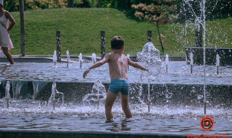 О фонтанах и людях Днепра…